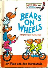 """Bears on Wheels"" by Stan & Jan Berenstain (1969) Bright & Early Books"