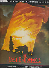 The Last Emperor-1987-Original Movie Soundtrack-[V-2485]-18 Track- Record LP