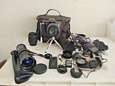 Nikon D5000 Digital Camera DX 55-200m Tamron 16-300m Kenko 8000S 420-800m + BAG
