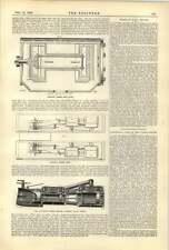 1893 piano di sezione Buckeye del motore attraverso valvole CASSAPANCHE