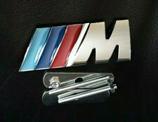 BMW M Tech Sport Front Grill Badge Chrome Alloy