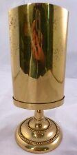 Vintage ITALIAN PEN HOLDER Brass Swivels Signed