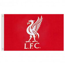 LIVERPOOL FC CORE CREST FLAG BANNER 5' X 3' ft FOR WINDOW CAR NEW GIFT XMAS