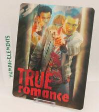 TRUE ROMANCE - Lenticular 3D Flip Magnet Cover FOR bluray steelbook