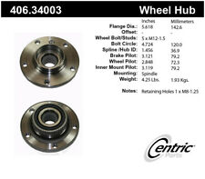 Wheel Bearing and Hub Assembly-Premium Hubs Front Centric 406.34003