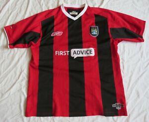 MANCHESTER CITY Reebok Away Shirt 2003/04 (L)