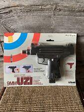 Vintage 1980's Larami Uzi Water Squirt Machine Gun Cap Gun Larami