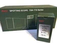 """New KOWA TSN-773 & TE-11WZ  Angled Type XD 3""""/77mm Spotting Scope & Eyepiece"""