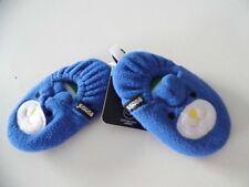 BONDS BABY BLUE ANIMAL SLIPPERS SIZE 6-12 MTHS BNWT