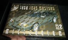 AMT 1988 FORD MUSTANG GT 1/25 Model Car Mountain FS MILLENIUM FOX BODY!