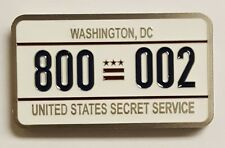 USSS VPPD Vice Presidential Protective Div Transportation Section Licence Plate