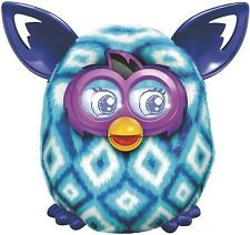 Furby Boom Blue Diamonds Plush Electronic Talking Pet Ages 6+ Toy Hasbro Play