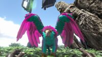 ark survival evolved XBOX PVE Level 215 Cotton Candy Griffin Clone