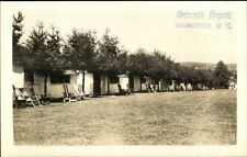 Meredith NH Cabins - Scnic Spot Real Photo Postcard