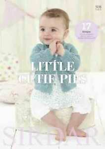 Sirdar Little Cutie Pies Book 508  17 designs for 0 to 7 yrs-Sirdar Baby Bamboo