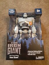 The Iron Giant Warner Bros 14-inch Light and Sound Motorized Walking Motion New