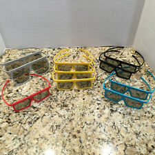 10 Prs 3D Glasses: 2 IMAX and 8 Others Movie Theater
