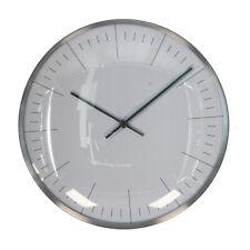 Pagazzi Lighting Metal Wall Clock Silver W7620