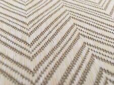Mokum OUTDOOR Chevron Zig Zag Upholstery Fabric- Madura Shell 3.75 yd 11455-805