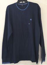 Brooks Brothers '346' Mens Crew Neck T-Shirt Blue w/ Trims Sz XL NWT