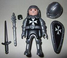 16487, Ritter, Malteser, Kreuzritter, mit Helm, Streitkolben, Schwert und Schild