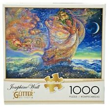 Buffalo Josephine Wall 1000 piece puzzle GLITTER Ocean of Dreams with poster