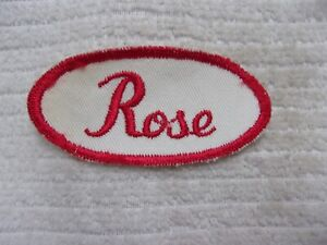 "Vintage SOHIO Embroidered Sew-On Uniform-Jacket Patch 3/"" x 2/"""