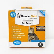 Thunder Shirt Cat Anxiety Treatment Shirt Jacket Solid Gray Small <9 Lb