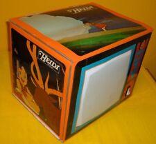 TV COLOR CARTONE HEIDI TELEVISORE PAPER TELEVISION TOEI exclusive '70 ITALY AIDI