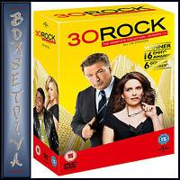 30 ROCK - COMPLETE SERIES SEASONS 1 2 3 4 5 6 & 7   **BRAND NEW DVD BOXSET**