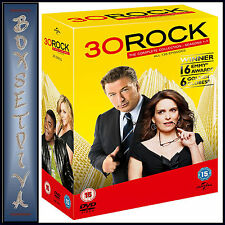 30 ROCK - COMPLETE SERIES SEASONS 1 2 3 4 5 6 & 7   **BRAND NEW DVD BOXSET**