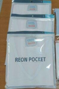 SONY REON POCKET L size T-shirt shirt 3 pcs set white for RNP-1A/W