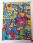 RARE VINTAGE ORIGINAL SUPERMAN POSTER 1993 BY DC COMICS CROMY ARGENTINA