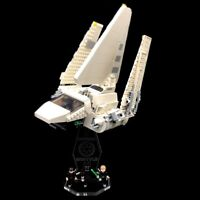 Display Stand Acrylglas Standfuss für LEGO 75302 Imperial Shuttle