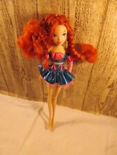 Winx club  BLOOM Believix Collection Fairy Doll  missing wing & acccessories