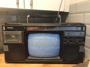 Vintage Panasonic TR1200G TV 4 Band Radio Cassette, Vintage TV Radio Cassette