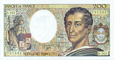 France P-155f 200 francs 1994 UNC