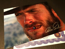 SIGNED CLINT EASTWOOD CLASSIC PHOTO AUTHENTIC AUTOGRAPH WITH COA