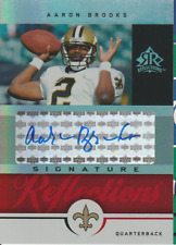 Aaron Brooks 2005 UD Reflections auto autograph card SR-AB
