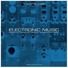 Electronic Music...It Started Here (2LP Gatefold 180g Vinyl) NEW/SEALED