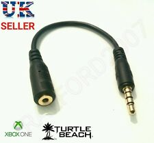 Chat Cable Adapter lead for Xbox TalkBack Turtle Beach Gaming Headset 3.5 -  2.5