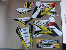FLU DESIGNS  PTS3 TEAM  GRAPHICS  SUZUKI DRZ400 DRZ400S DRZ400E DRZ400SM DRZ