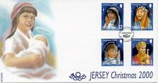 JERSEY 2000 CHRISTMAS CHILDREN'S NATIVITY PLAY FDC LOT R2659