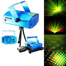 New Mini LED Stage laser Light Red & Green Star Projector Strobe DJ Disco Party