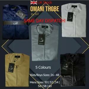 Alif Mens Luxury Omani Dubai Jubba (Thobe) - Premium Quality|Fashion Thobe Jubba