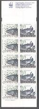 SWEDEN 1991, MARINE LIFE, FISHES, Scott 1868b  COMPLETE BOOKLET, MNH