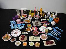 BARBIE *DISHES, FOOD, MINIATURES, DOLLHOUSE, KITCHEN LOT #6