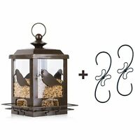 Heavy Duty Hanging Gazebo Wild Bird Feeder Outdoor Garden Yard Patio Decoration