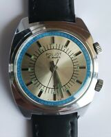 POLJOT SIGNAL USSR Soviet Buzzing ALARM watch  SERVICED RARE 18 jewels