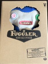 "Fuggler Funny Ugly Monster 12"" Lil' Demon Deluxe Plush with Teeth - Blue"